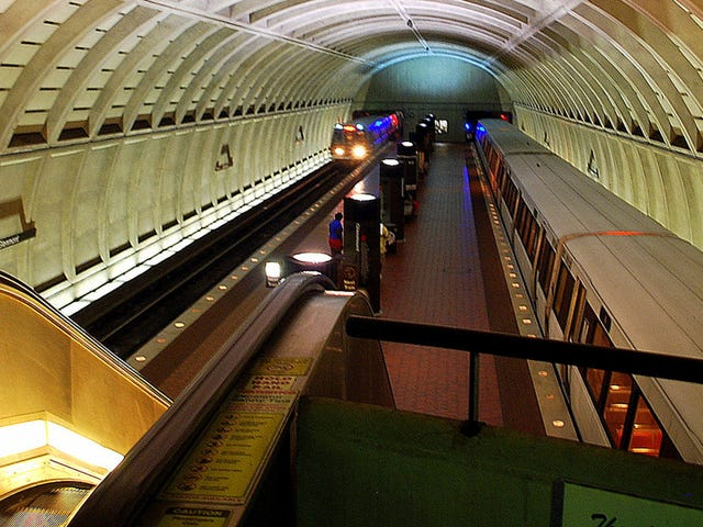 D.C. To Be More Fucked Than Usual As Entire Metrorail Shuts Down Tomorrow