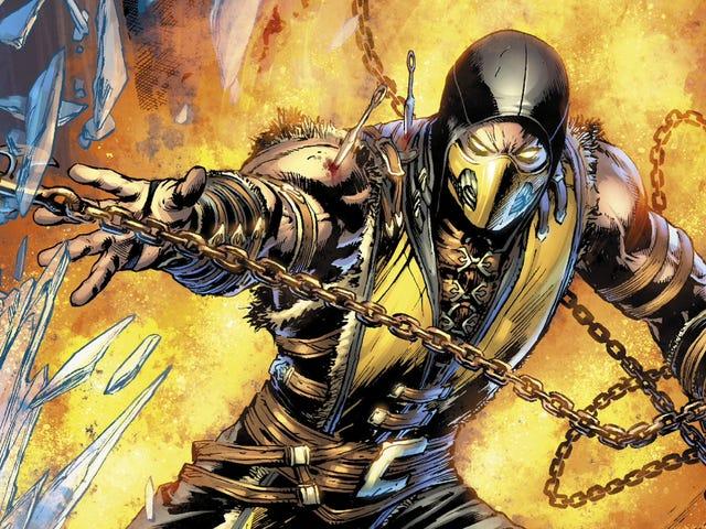 La nouvelle bande dessinée de <i>Mortal Kombat</i> n&#39;est même pas mauvaise d&#39;une bonne manière