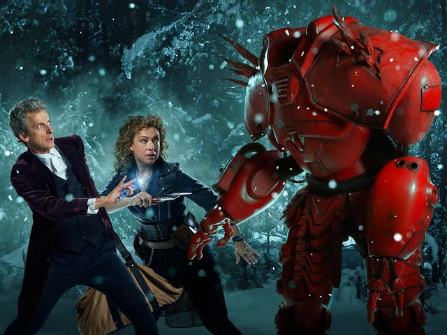 This Week's TV: River Song and the Doctor Fight a Robot Crab at Christmas!