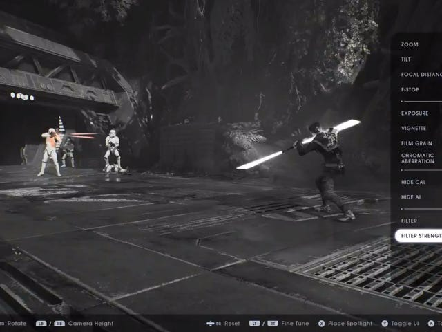 Star Wars Jedi: Fallen Order is getting a photo mode later this week