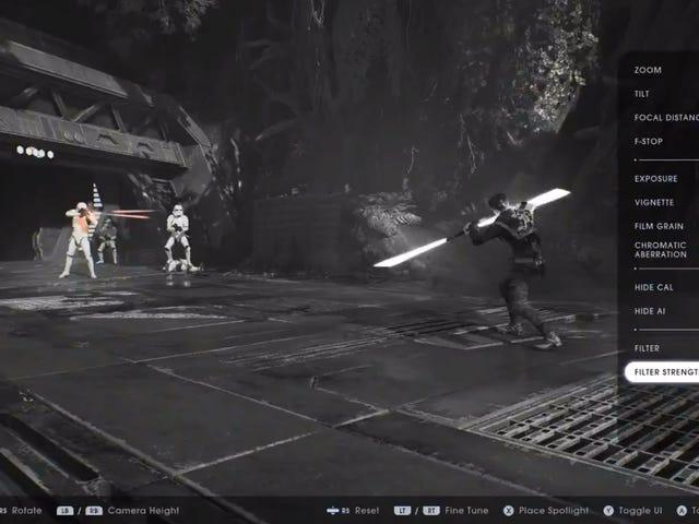Star Wars Jedi: Fallen Order får en fotomodus senere denne uken