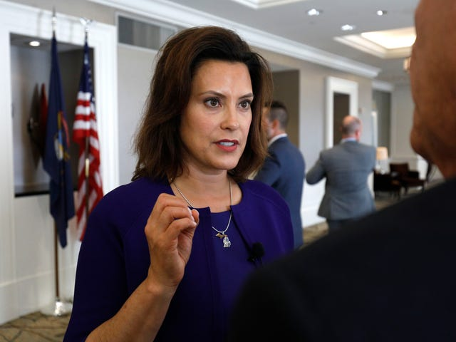 Michigan Gov. Gretchen Whitmer Says Protestors Risk Extending Stay-At-Home Order