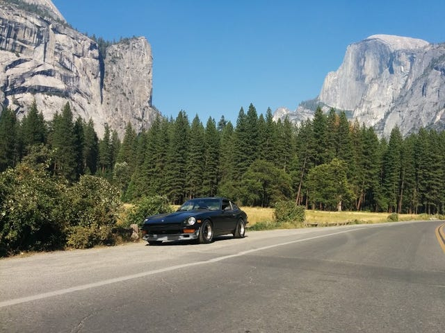 The Z made it to Yosemite!