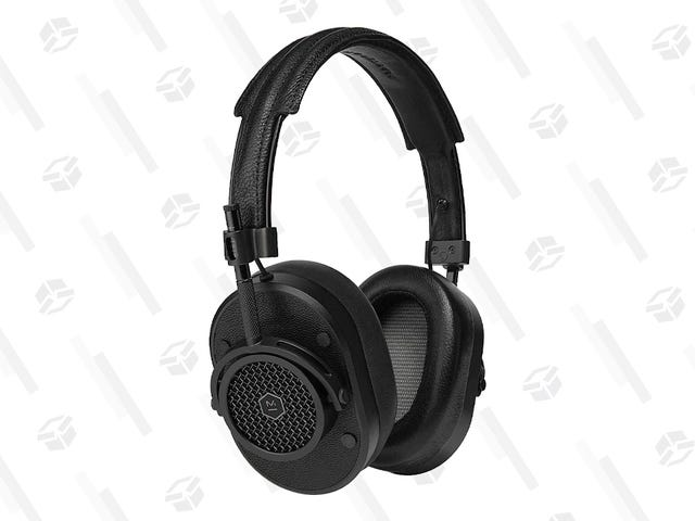 Save Big on These Classy, Great-Sounding Master & Dynamic Headphones