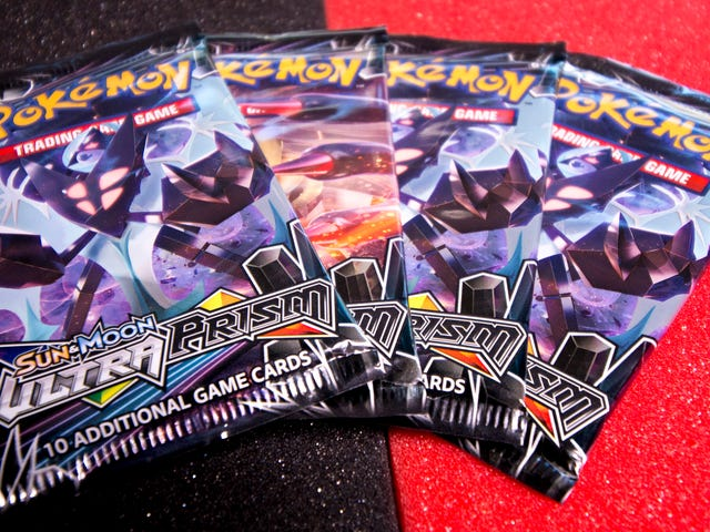 Let's Open Some Pokemon Ultra Prism Cards And See If There's Anything Good