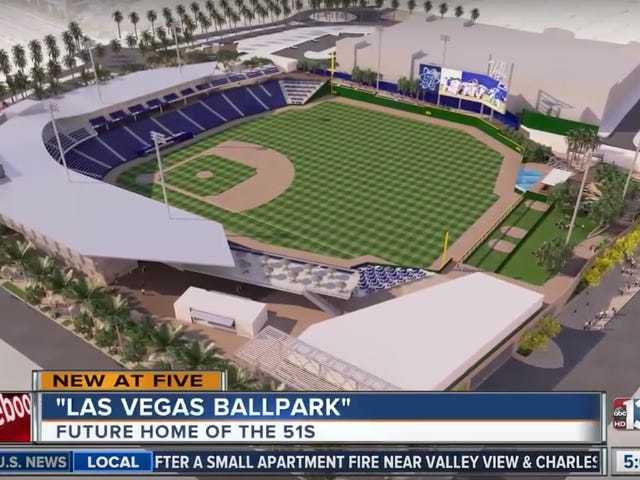 Las Vegas Sneakily Gave Away $80 Million For A New Triple-A Stadium