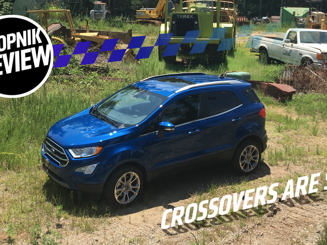 The 2018 Ford EcoSport Titanium Is a Good Reminder That Humans Are Irrational