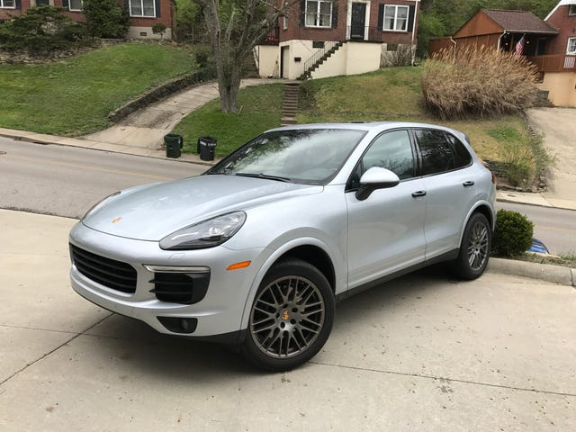 I have a '17 Cayenne Platinum Editition for a Few Days