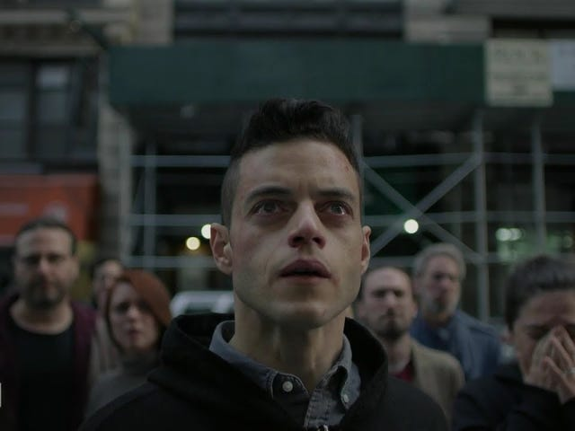 Rami Malek Occupies Wall Street, Your Heart in the New Mr. Robot Trailer