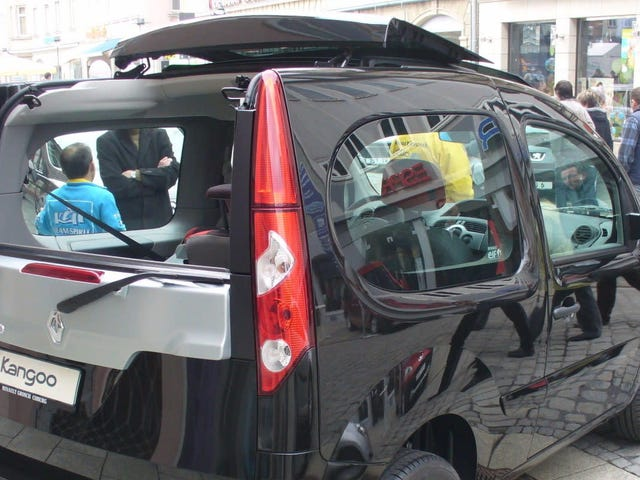 Renaults Kangoo Be Bop var en Funky French Envoy XUV