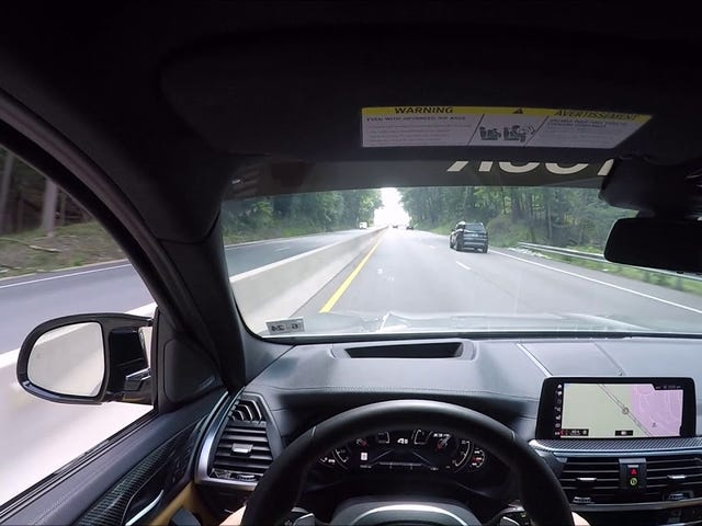 M Town Tour BMW X3 M Competition POV Drive