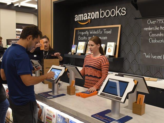 Μόλις στο χρόνο, η μέθοδος των ευρεσιτεχνιών του Amazon για την αποτροπή των αγορών σύγκρισης στο κατάστημα