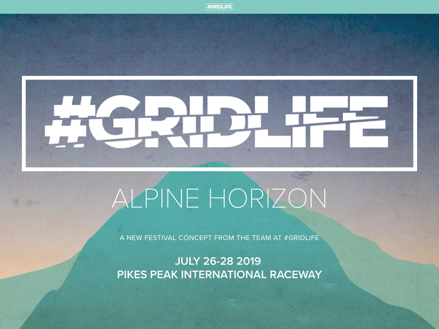 Which of you will I get to see at #GRIDLIFE Colorado??