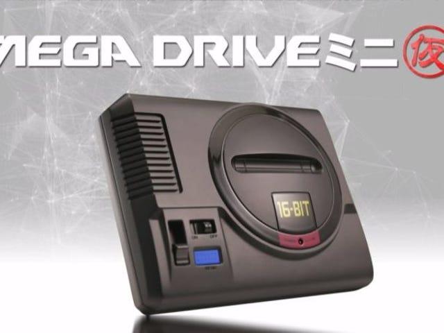 ¿Echas de menos la Mega Drive? Sega anuncia una versión mini de su mítica consola de 16-Bits