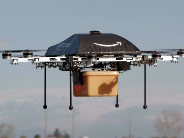Amazon Was Just Granted Permission For Drone Research In The U.S.