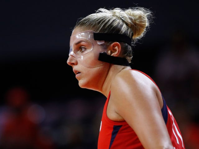 Right On Cue, Elena Delle Donne's Back Is All Screwed Up