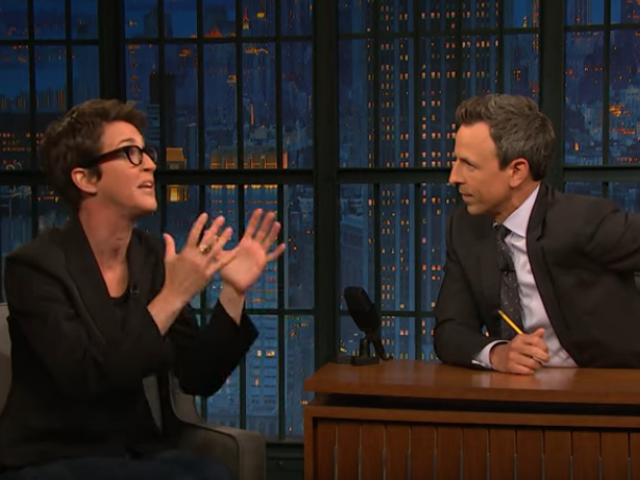 Rachel Maddow tells Seth Meyers the Democrats needs to stop overthinking and impeach already