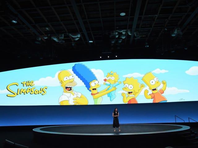 Мальчик, мы надеемся, что кого-то уволили за эту ошибку: «Дисней +» подшучивает над шутками Симпсонов