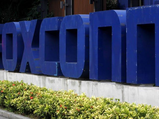 Foxconn: Så, om den fabrikken i Wisconsin tilbyr du oss $ 4 milliard i incitament til å bygge