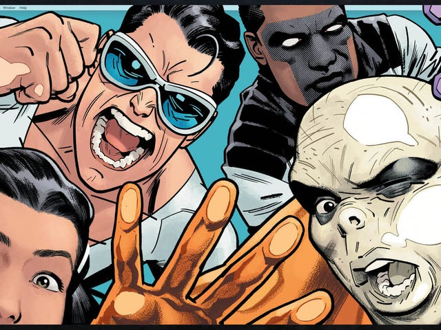 Gene Luen Yang takes over The Terrifics in this exclusive preview