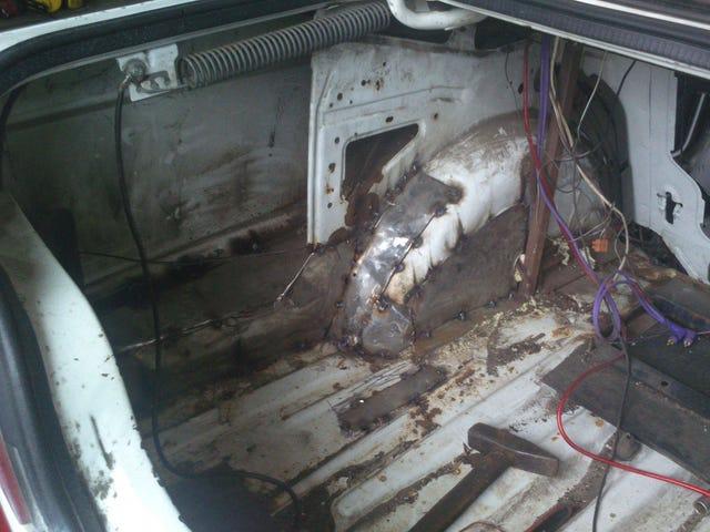 Wussten Sie, dass alte Waschmaschinen hervorragend für Autoreparaturen geeignet sind?