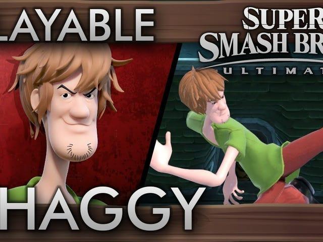Shaggy's power cannot be contained, as he joins the cast of Smash Ultimate via this mod by Demonslay