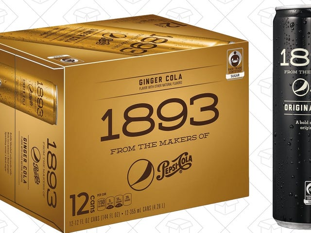 Pepsi's Surprisingly Great 1893 Colas Are Back On Sale For Less Than $1 Per Can