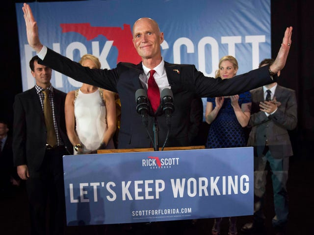 Florida Gov. Rick Scott Is Running for Senate and This Race Is Going to Get Messy