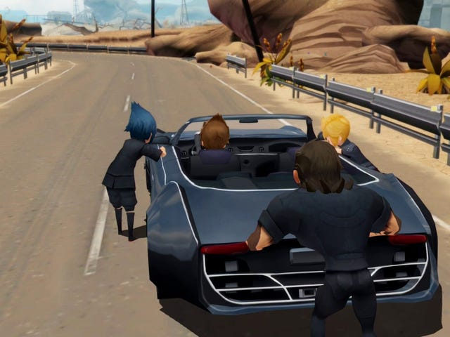 Final Fantasy XV's Director Wants You To Know He Can't Find A Switch