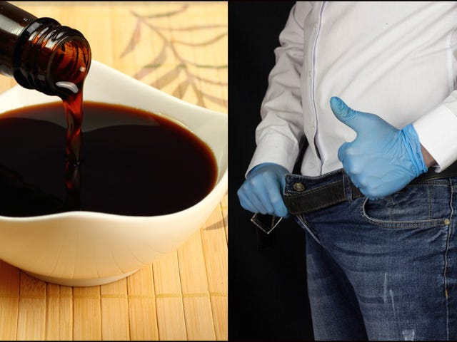 Men are trying to taste soy sauce by dunking their junk in it because the Internet told them to