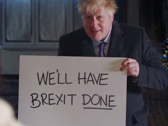 Here's Boris Johnson making the grossest scene in Love, Actually somehow even worse