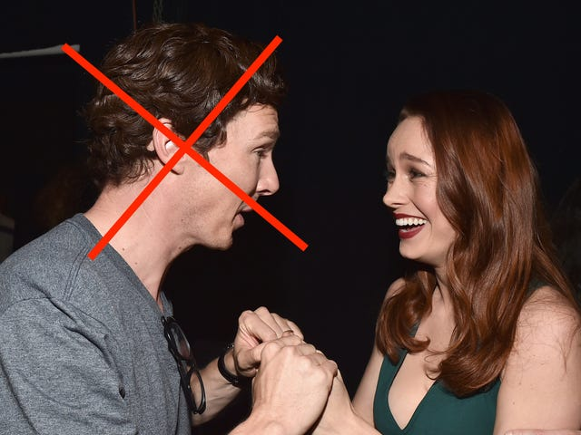 Brie Larson Loses Her Shit Meeting a Celebrity at Disneyland
