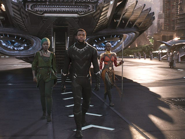 Black Panther Delivers the Biggest, Blackest Superhero Movie Ever and It's Just as Good as You Want It to Be