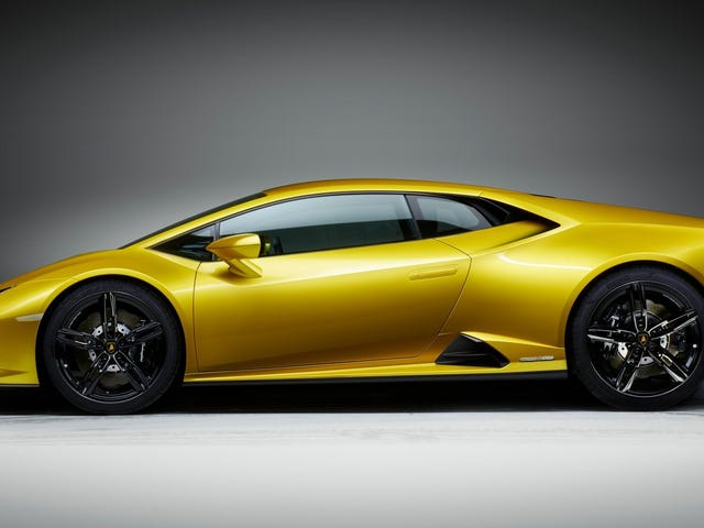 Der gute Lamborghini ist da