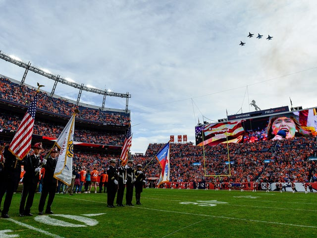 The NFL's Relationship with the Military is Even More Tenuous Now