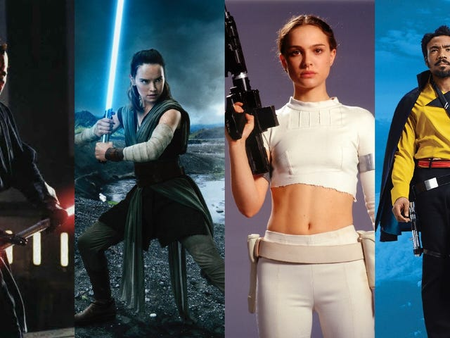 A Shockingly In-Depth Examination of How Star Wars Characters Hold Their Weapons