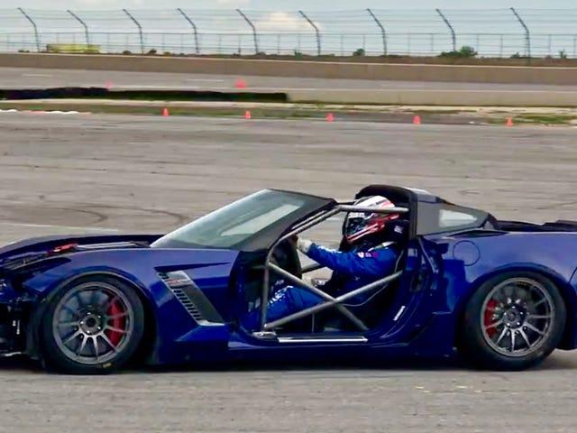 将救援克尔维特Z06转入赛车是一个痛苦的屁股