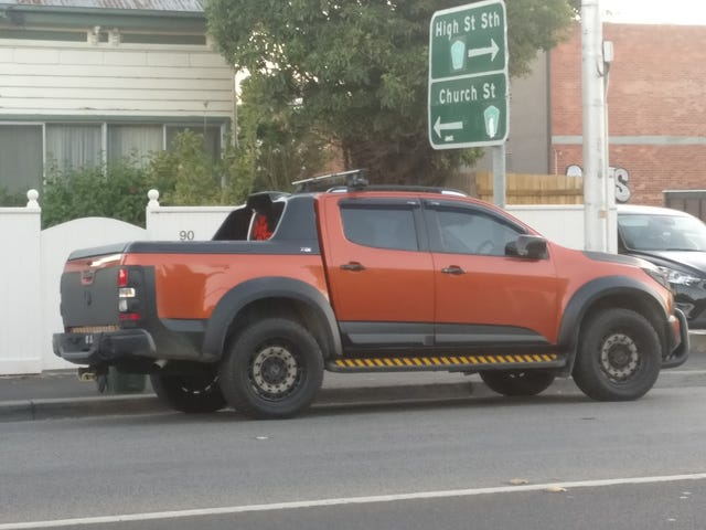 Spending thousands of dollars to have the ugliest ranger on the roads