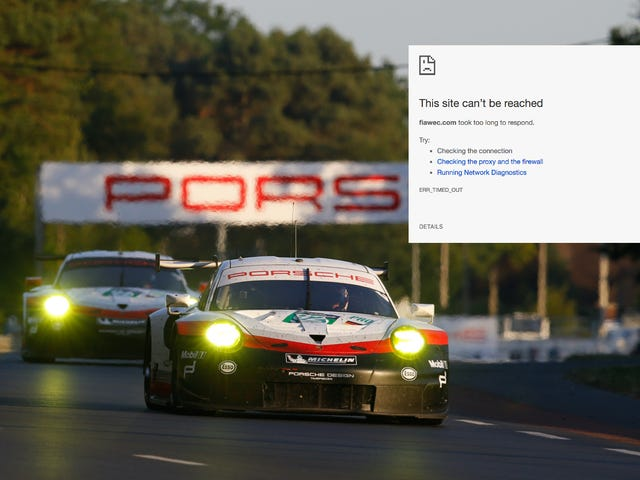 Live Stream For One Of Motorsport's Biggest Events Ground To A Halt By Cyberattacks