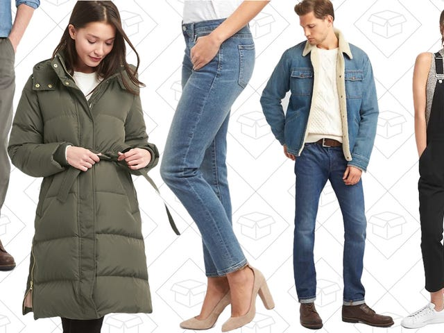 GAP's Black Friday Sale is Already Upon Us, And It's 50% Off Literally Everything