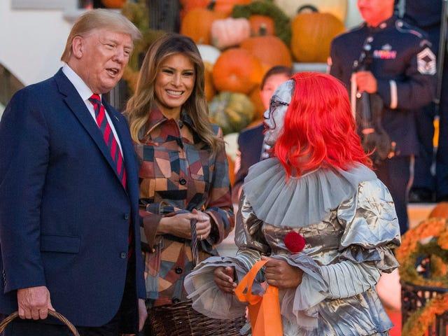 Trump-familien giver det mest frygtede for al Halloween-slik