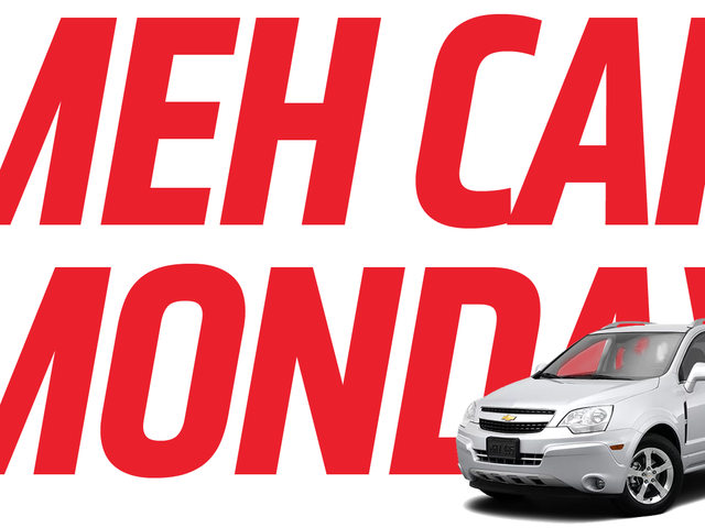 Meh Car Monday: Behold The Astounding Nothingness Of The Chevrolet Captiva