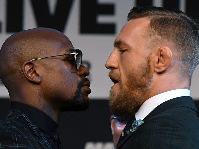 ¿Cuál será la lucha al final del Mayweather vs.  ¿El circo de McGregor parece?