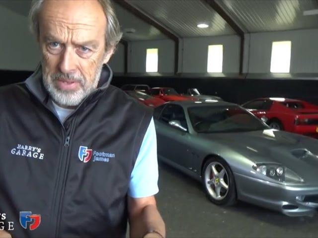 Harry's Garage: Ferrari 550 Maranello review
