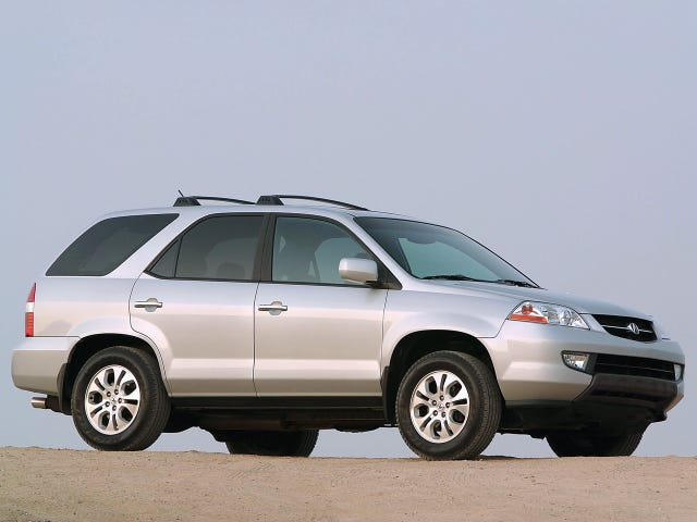 Acura MDX is just an italicized Honda Pilot