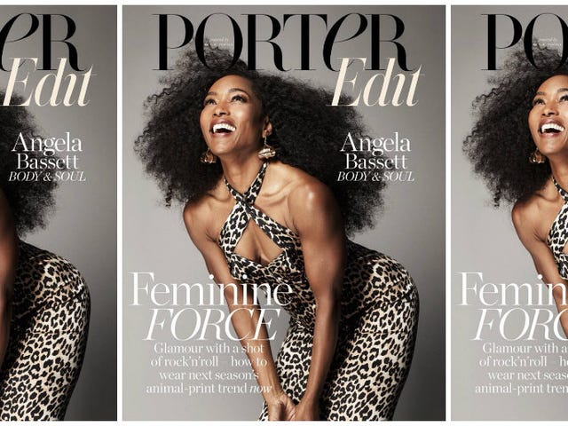 Forever Fine: Angela Bassett Proves She's Eternally Bae on the Cover of Porter Magazine