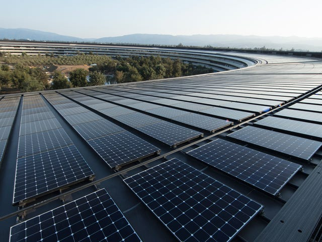 So, About Apple's 100 Percent Renewable Energy Announcement<em></em>