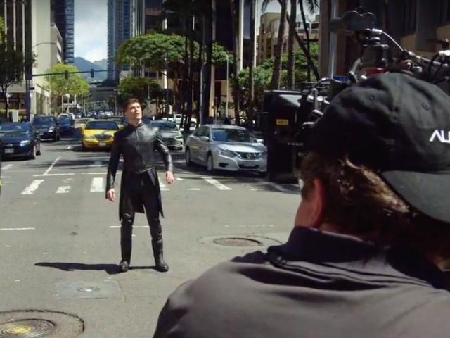 De directeur van Inhumans van Marvel gelooft dat hij was aangenomen vanwege zijn vermogen om snel en goedkoop te schieten