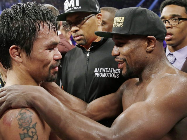Floyd Mayweather And Manny Pacquiao Will Stage History's Least Wanted Rematch