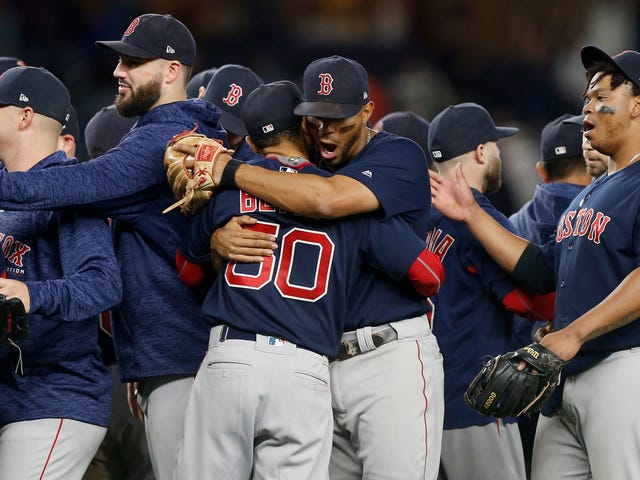 The Red Sox Just Never Stopped Winning